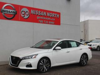 New 2020 Nissan Altima 2.5 Platinum/AWD/LEATHER/SUNROOF for sale in Edmonton, AB
