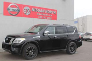New 2020 Nissan Armada DEMO/Platinum/4WD/LEATHER/SUNROOF for sale in Edmonton, AB