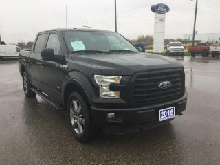 Used 2016 Ford F-150 XLT | 4X4 | Twin Panel Moonroof for sale in Harriston, ON