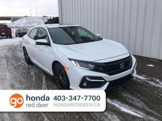 New 2020 Honda Civic Hatchback Sport Touring Navigation Remote Start for sale in Red Deer, AB