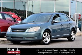 Used 2010 Chevrolet Cobalt DEAL PENDING LT w/1SA AUTO TRES BAS KM AUTO TRES BAS KM AC MAGS for sale in Lachine, QC