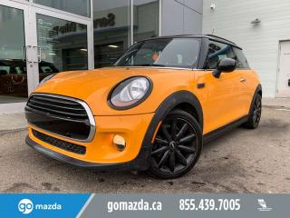 Used 2016 MINI Cooper Hardtop 3 DOOR LEATHER SUNROOF GREAT CONDITION for sale in Edmonton, AB