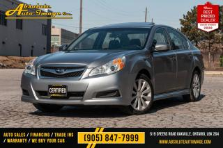 Used 2010 Subaru Legacy,Bluetooth,Limited,AWD,Leather,Sunroof Limited for sale in Oakville, ON