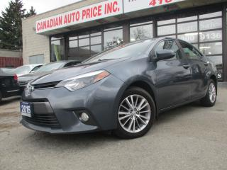 Used 2015 Toyota Corolla LE PLUS- CAMERA - SUNROOF-BLUETOOTH-HEATED-ALLOY for sale in Scarborough, ON