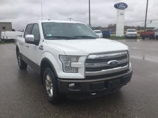 Used 2015 Ford F-150 Lariat for sale in Harriston, ON