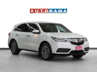 Used 2016 Acura MDX Tech Pkg 4WD Nav Leather Sunroof Backup Cam 7Pass for sale in Toronto, ON