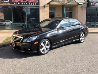 Used 2011 Mercedes-Benz E-Class E 350**4MATIC**NAVIGATION**PANO ROOF** for sale in North York, ON