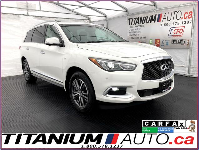 2016 Infiniti QX60 AWD+Blind Spot+Radar Cruise+GPS+360 Camera+Brown L