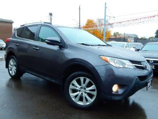 Used 2013 Toyota RAV4 Limited AWD.Navigation.Camera.Leather.Roof.Low Kms for sale in Kitchener, ON