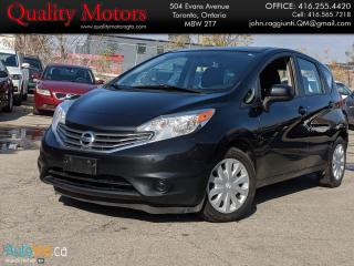 Used 2014 Nissan Versa Note S for sale in Etobicoke, ON