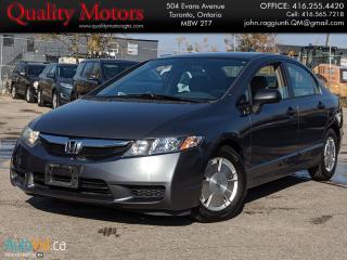 Used 2011 Honda Civic DX-G for sale in Etobicoke, ON