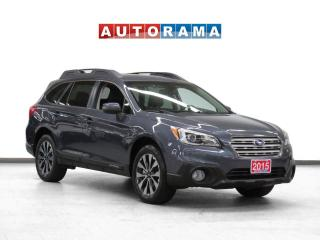 Used 2015 Subaru Outback 2.5i w/Limited Pkg 4WD Navi Leather Backup Cam for sale in Toronto, ON