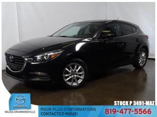 Used 2017 Mazda MAZDA3 Sport |GS|SIEGCHAUF|CAMERA|REGVIT|AIRCLIM|BLUETOOTH|MAG| for sale in Drummondville, QC