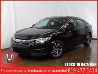 Used 2016 Honda Civic EX+BLUETOOTH+SIEGCHAUFF+REGVIT for sale in Drummondville, QC