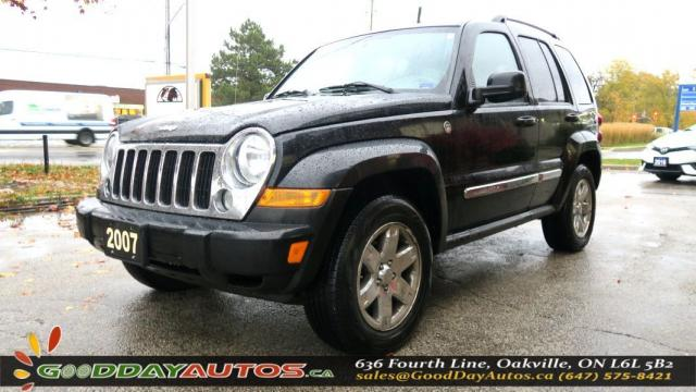 2007 Jeep Liberty Limited Edition  LOW KM NO ACCIDENT AWD CERTIFIED
