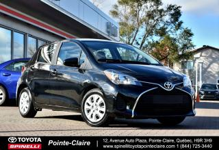 Used 2016 Toyota Yaris LE HB for sale in Pointe-Claire, QC
