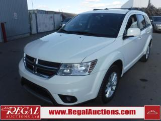 Used 2017 Dodge Journey SXT 4D Utility FWD 7PASS 3.6L for sale in Calgary, AB