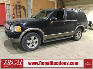 Used 2003 Ford Explorer Eddie Bauer 4D Utility 4WD for sale in Calgary, AB