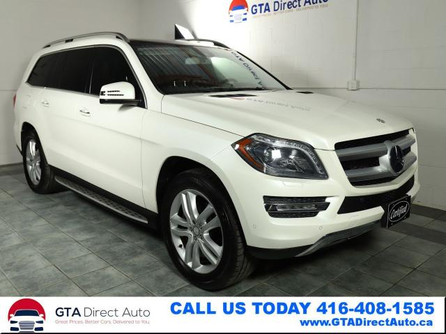 2013 Mercedes-Benz GL-Class GL350 BlueTec AWD Nav Pano DVD 7Pass Cam Certified
