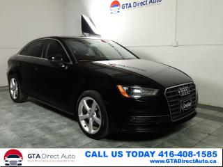 Used 2015 Audi A3 TDI Komfort Sunroof Leather Xenons Heatd Certified for sale in Toronto, ON