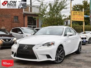 Used 2016 Lexus IS 300 FSport*AWD*Leather*Sunroof*Navi*Camera*BlindSpot* for sale in Toronto, ON