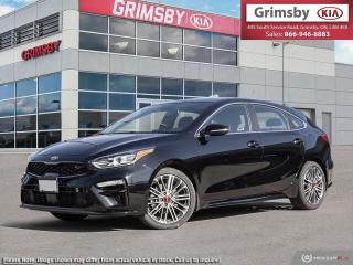 New 2020 Kia Forte5 FORTE5 GT LTD|LEATHER|SUNROOF|UVO|NAV|SAFETY TECH| for sale in Grimsby, ON
