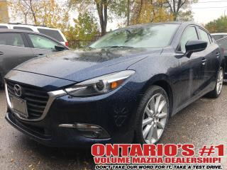Used 2018 Mazda MAZDA3 BACKUP CAM,SUNROOF,HEATED SEATS !!! for sale in Toronto, ON