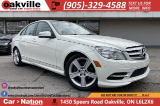 Used 2011 Mercedes-Benz C-Class C300 4MATIC | LEATHER | SUNROOF | BLUETOOTH for sale in Oakville, ON