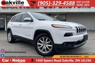 Used 2016 Jeep Cherokee 4WD LIMITED | LEATHER | NAVI | B/U CAM | HTD SEATS for sale in Oakville, ON
