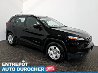 Used 2017 Jeep Cherokee Sport AWD Automatique - A/C - Groupe Électrique for sale in Laval, QC