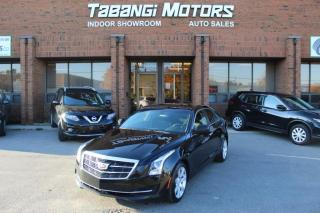 Used 2015 Cadillac ATS LEATHER I HEATED SEATS I PUSH START I KEYLESS ENTRY I BT for sale in Mississauga, ON