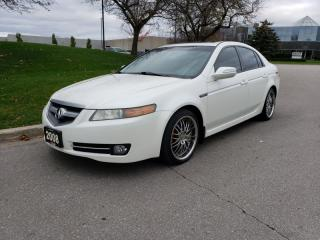 Used 2008 Acura TL 4dr Sdn Auto w/Nav Pkg | Back-Up Camera | 2 Owner for sale in Vaughan, ON