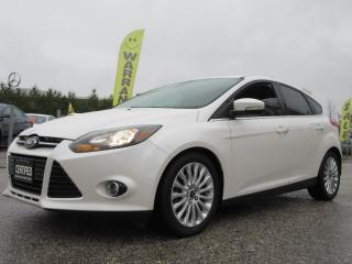 Used 2012 Ford Focus 5dr HB Titanium/ ACCIDENT FREE for sale in Newmarket, ON