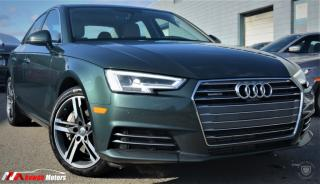 Used 2017 Audi A4 Technik Quattro FULLY LOADED /KEYLESS ENTRY/ HEATED SEATS for sale in Brampton, ON