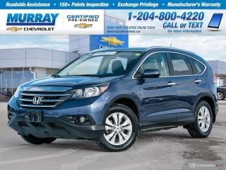 Used 2012 Honda CR-V Touring for sale in Winnipeg, MB