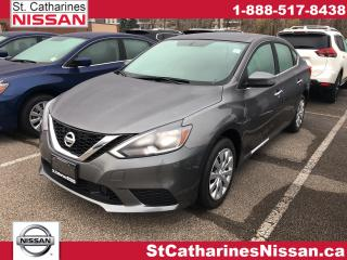 New 2019 Nissan Sentra 1.8 SV CVT (2) for sale in St. Catharines, ON