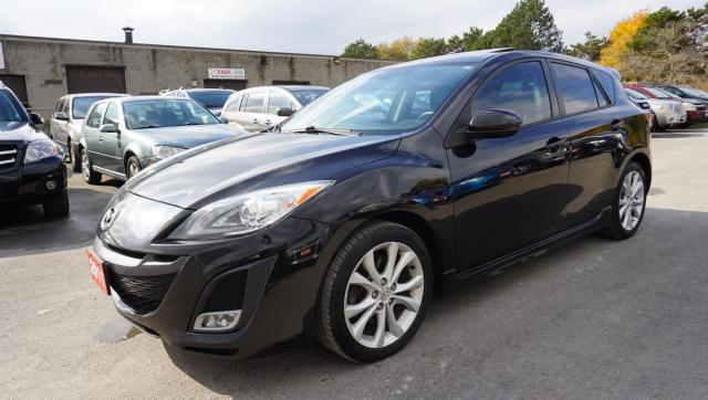 2011 Mazda MAZDA3 GT HB 6Spd NAVI CERTIFIED 2YR WARRANTY *1 OWNER*FREE ACCIDENT* SUNROOF HEATED LEATHER