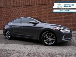 Used 2017 Hyundai Elantra Limited  - Local - Trade-in - $114 B/W for sale in Brantford, ON
