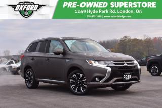 Used 2018 Mitsubishi Outlander Phev - Hybrid, One Owner, Low Kms for sale in London, ON