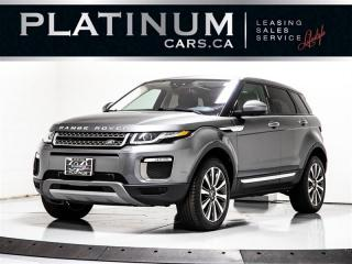 Used 2016 Land Rover Range Rover Evoque HSE, NAVI, MERIDIAN, PANO, Paddle Shifter Range Rover Evoque for sale in Toronto, ON