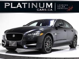 Used 2017 Jaguar XF 35t R-Sport, AWD, NAV, CAM, Blind SPOT, Sunroof for sale in Toronto, ON