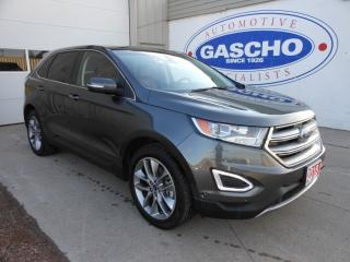 Used 2018 Ford Edge Titanium, Navigation, Panoramic Roof for sale in Kitchener, ON