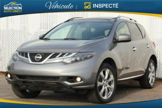 Used 2012 Nissan Murano LE Platnium for sale in Ste-Rose, QC