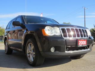 Used 2008 Jeep Grand Cherokee LIMITED S-TYPE for sale in Scarborough, ON