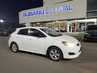 Used 2010 Toyota Matrix BASE for sale in Laval, QC
