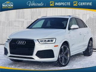 Used 2016 Audi Q3 2.0T Technik quattro S-Line for sale in Ste-Rose, QC