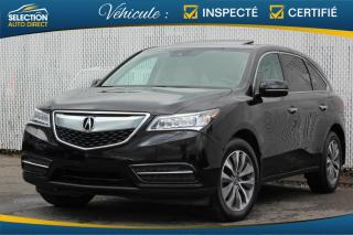 Used 2016 Acura MDX TECH PACK SH-AWD for sale in Ste-Rose, QC