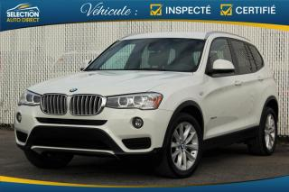 Used 2016 BMW X3 28i XDrive for sale in Ste-Rose, QC
