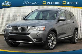 Used 2016 BMW X3 35i xDrive for sale in Ste-Rose, QC