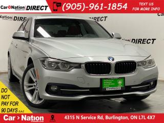 Used 2016 BMW 3 Series 328d xDrive| NAVI| SUNROOF| RED LEATHER| for sale in Burlington, ON